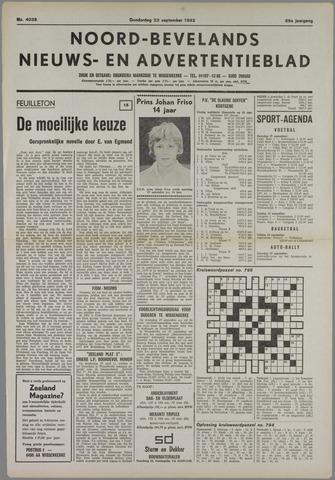 Noord-Bevelands Nieuws- en advertentieblad 1982-09-23