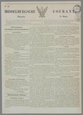 Middelburgsche Courant 1854-03-14
