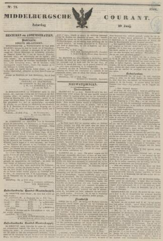 Middelburgsche Courant 1844-06-29
