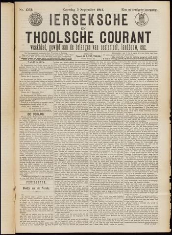 Ierseksche en Thoolsche Courant 1914-09-05