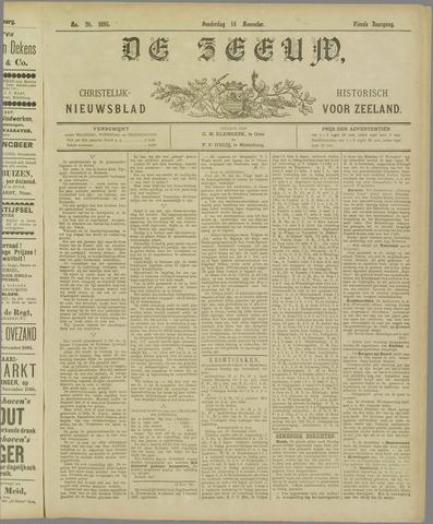 De Zeeuw. Christelijk-historisch nieuwsblad voor Zeeland 1895-11-14
