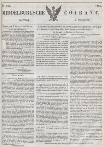 Middelburgsche Courant 1867-12-07