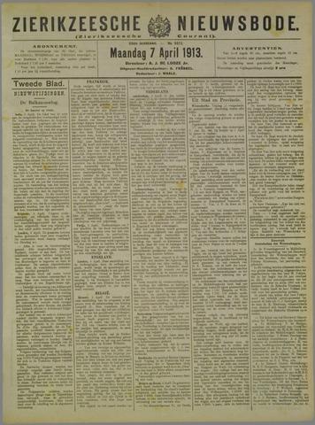 Zierikzeesche Nieuwsbode 1913-04-07