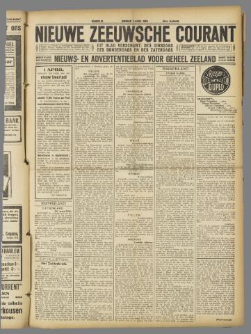 Nieuwe Zeeuwsche Courant 1924-04-01