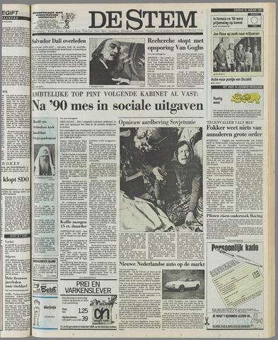 de Stem 1989-01-24