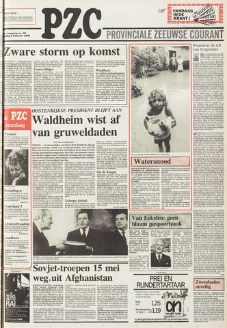 Provinciale Zeeuwse Courant 1988-02-09