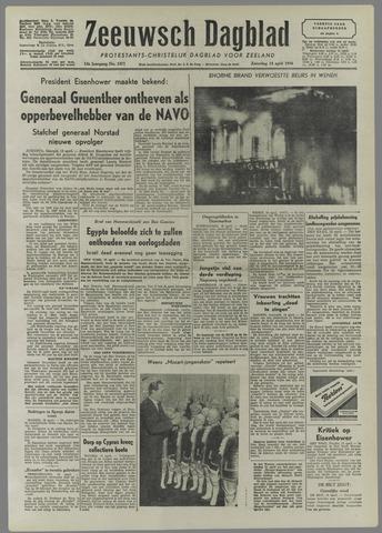 Zeeuwsch Dagblad 1956-04-14