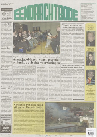 Eendrachtbode (1945-heden)/Mededeelingenblad voor het eiland Tholen (1944/45) 2010-02-11