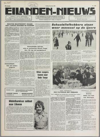 Eilanden-nieuws. Christelijk streekblad op gereformeerde grondslag 1980-01-18