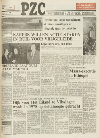Provinciale Zeeuwse Courant 1974-11-25