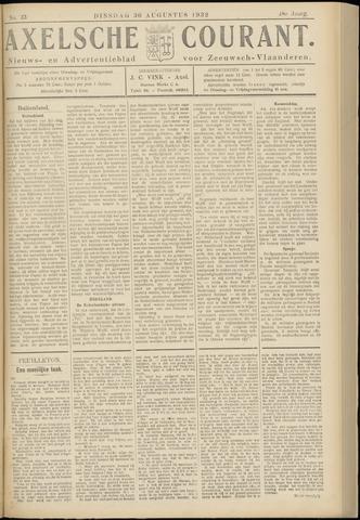 Axelsche Courant 1932-08-30