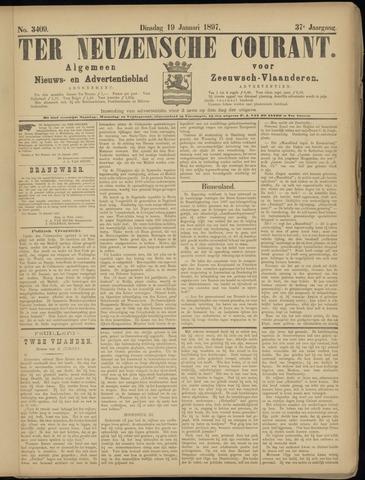 Ter Neuzensche Courant. Algemeen Nieuws- en Advertentieblad voor Zeeuwsch-Vlaanderen / Neuzensche Courant ... (idem) / (Algemeen) nieuws en advertentieblad voor Zeeuwsch-Vlaanderen 1897-01-19