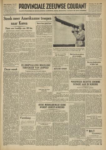 Provinciale Zeeuwse Courant 1950-07-22