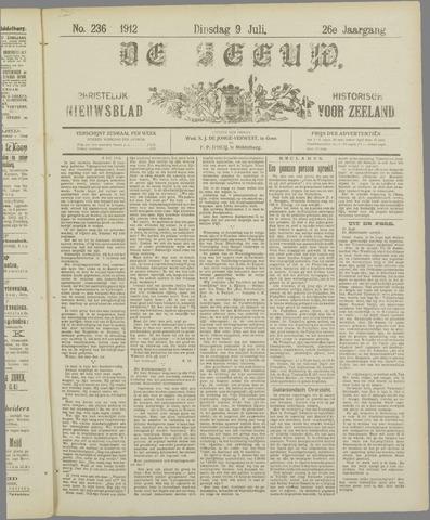 De Zeeuw. Christelijk-historisch nieuwsblad voor Zeeland 1912-07-09