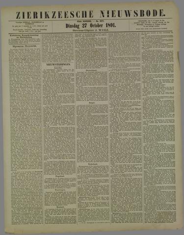 Zierikzeesche Nieuwsbode 1891-10-27