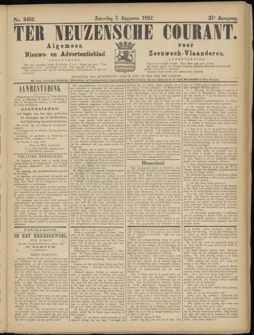 Ter Neuzensche Courant. Algemeen Nieuws- en Advertentieblad voor Zeeuwsch-Vlaanderen / Neuzensche Courant ... (idem) / (Algemeen) nieuws en advertentieblad voor Zeeuwsch-Vlaanderen 1897-08-07