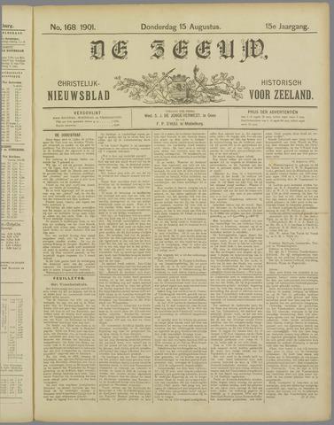 De Zeeuw. Christelijk-historisch nieuwsblad voor Zeeland 1901-08-15