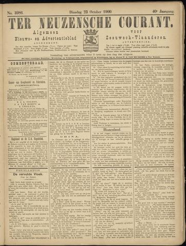 Ter Neuzensche Courant. Algemeen Nieuws- en Advertentieblad voor Zeeuwsch-Vlaanderen / Neuzensche Courant ... (idem) / (Algemeen) nieuws en advertentieblad voor Zeeuwsch-Vlaanderen 1900-10-23