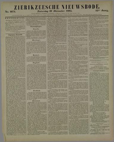 Zierikzeesche Nieuwsbode 1885-12-19