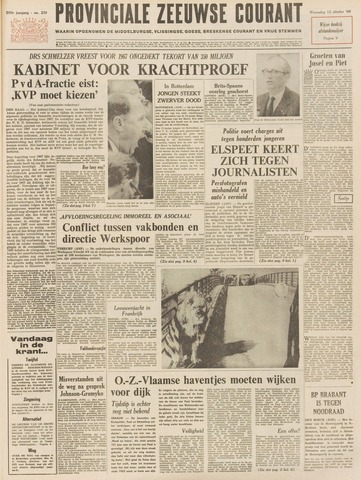 Provinciale Zeeuwse Courant 1966-10-12