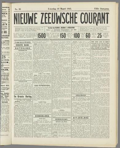 Nieuwe Zeeuwsche Courant 1915-03-13