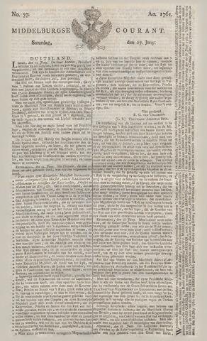 Middelburgsche Courant 1761-06-27