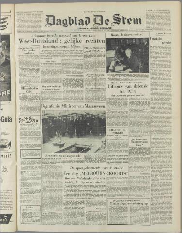 de Stem 1951-11-23