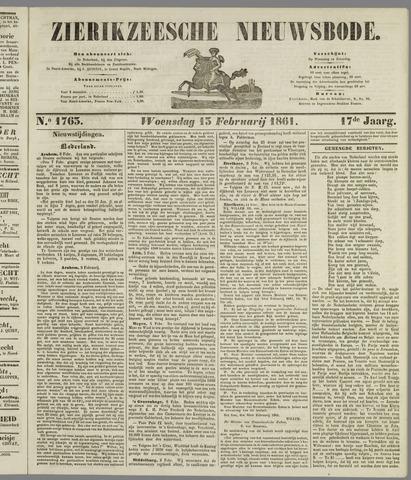 Zierikzeesche Nieuwsbode 1861-02-13