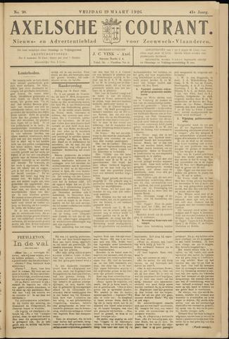 Axelsche Courant 1926-03-19