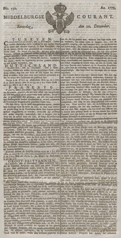 Middelburgsche Courant 1777-12-20