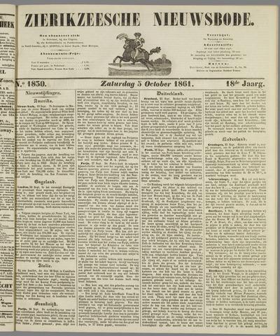 Zierikzeesche Nieuwsbode 1861-10-05
