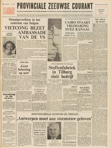 Provinciale Zeeuwse Courant 1968-01-31