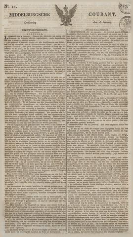 Middelburgsche Courant 1827-01-25