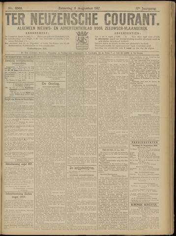 Ter Neuzensche Courant. Algemeen Nieuws- en Advertentieblad voor Zeeuwsch-Vlaanderen / Neuzensche Courant ... (idem) / (Algemeen) nieuws en advertentieblad voor Zeeuwsch-Vlaanderen 1917-08-11