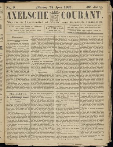 Axelsche Courant 1922-04-25