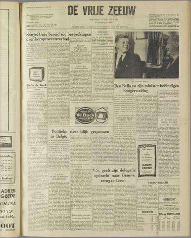 de Vrije Zeeuw 1961-11-22