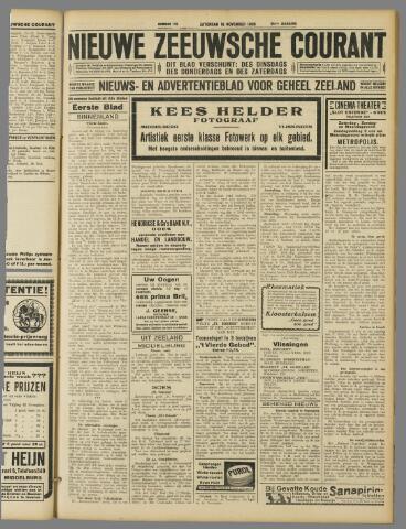 Nieuwe Zeeuwsche Courant 1929-11-16