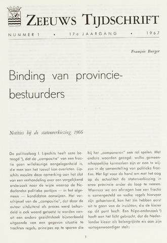 Zeeuws Tijdschrift 1967-01-01