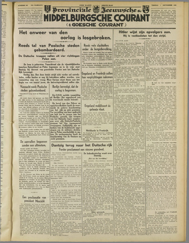 Middelburgsche Courant 1939-09-01