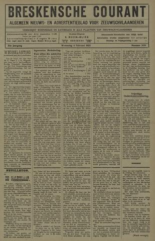 Breskensche Courant 1925-02-04