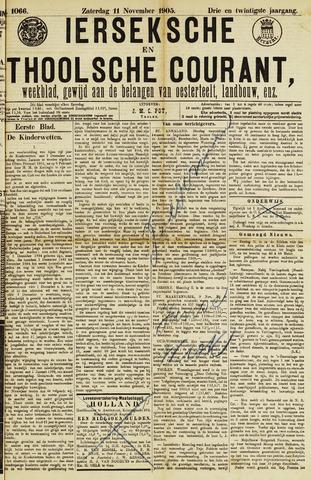 Ierseksche en Thoolsche Courant 1905-11-11