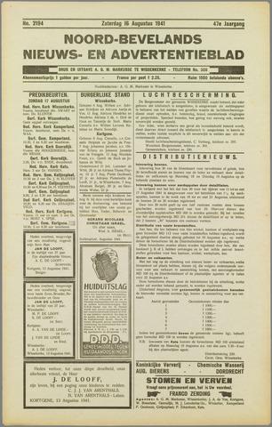 Noord-Bevelands Nieuws- en advertentieblad 1941-08-16