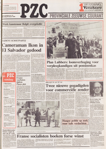 Provinciale Zeeuwse Courant 1989-03-20
