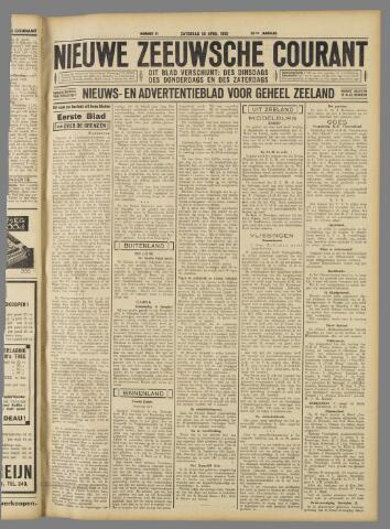 Nieuwe Zeeuwsche Courant 1932-04-30