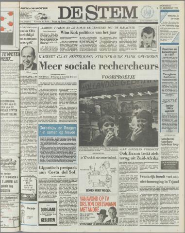 de Stem 1986-12-31