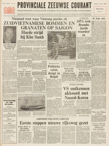 Provinciale Zeeuwse Courant 1968-02-06