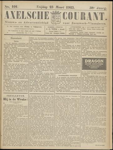 Axelsche Courant 1923-03-23