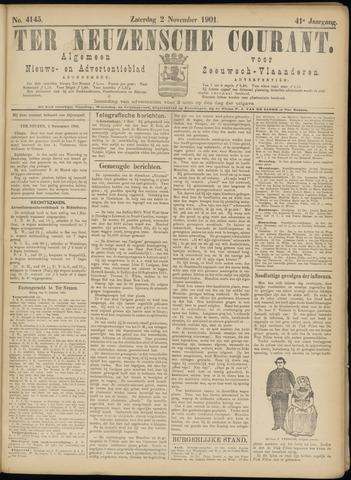 Ter Neuzensche Courant. Algemeen Nieuws- en Advertentieblad voor Zeeuwsch-Vlaanderen / Neuzensche Courant ... (idem) / (Algemeen) nieuws en advertentieblad voor Zeeuwsch-Vlaanderen 1901-11-02