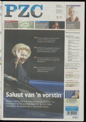 Provinciale Zeeuwse Courant 2013-04-30
