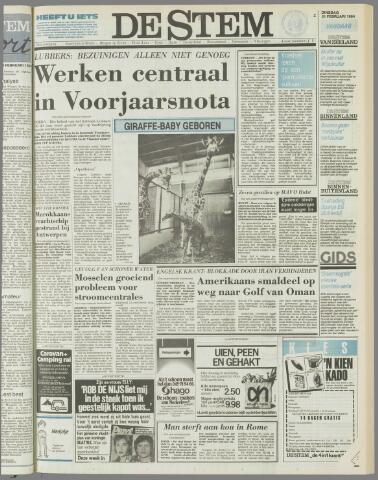 de Stem 1984-02-21
